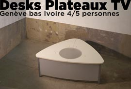 desk plateau TV